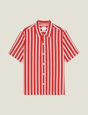 Hemd Mit Kontraststreifen : Hemden farbe Rot