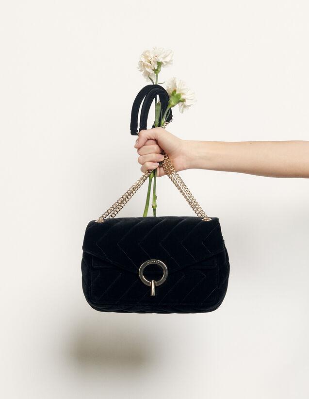Tasche Yza : Die ganze Winterkollektion farbe Schwarz