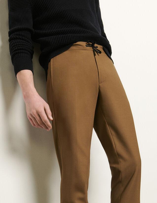 Hose mit elastischem Taillenbund : Hosen & Shorts farbe Schwarz