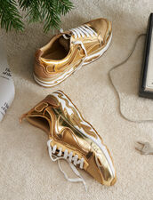Flame Sneaker : Must-Have farbe Full Gold