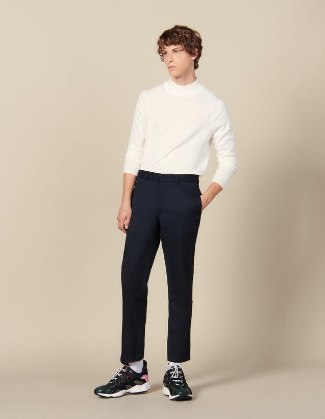 Klassische Hose : Winterkollektion farbe Marine