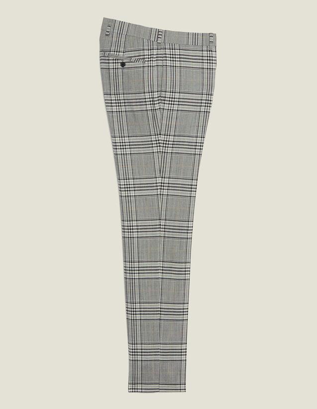 Anzughose Mit Klassischem Schnitt : Anzüge & Smokings farbe Grau