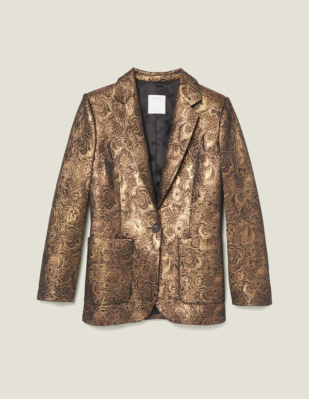 Kostümjacke Aus Brokat : Blousons & Jacken farbe Gold