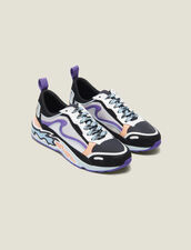 Flame Sneaker : New In farbe Ciel