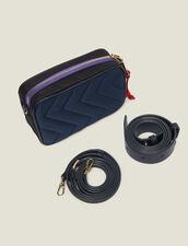 Handtasche Liza : null farbe MARINE/NOIR
