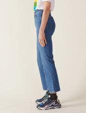 Ausgestellte Jeans : Jeans farbe Schwarz