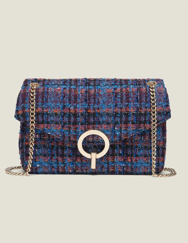 Tasche Yza aus Tweed : Das beste der Saison farbe Bunt