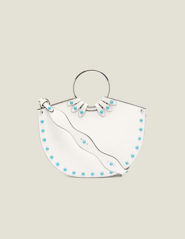Ringtasche Mit Zwei Tragemöglichkeiten : null farbe Weiß