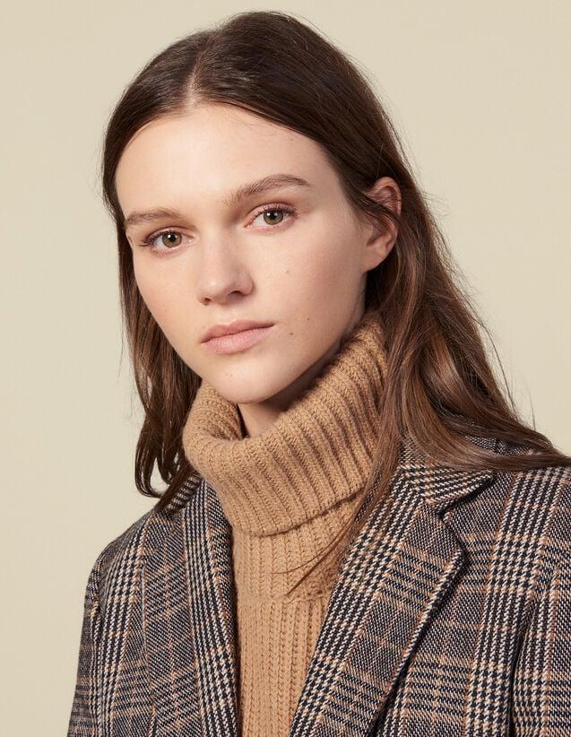 Schalkragen Aus Wolle : Scarves farbe Camel