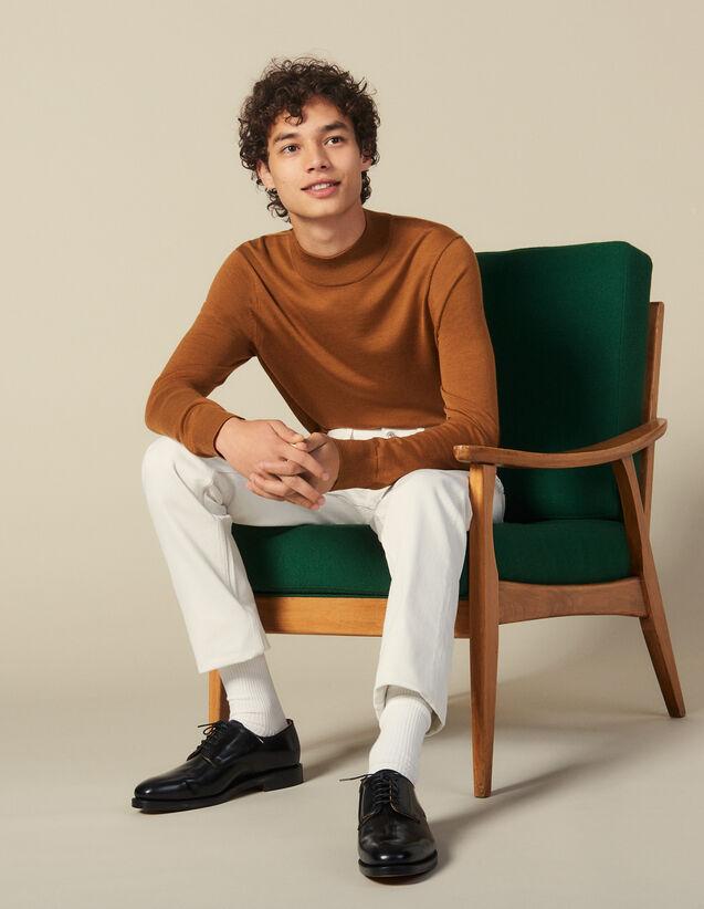 Pullover Mit Stehkragen : Pullovers & Cardigans farbe Vert foncé