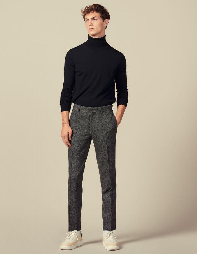 Dicke Anzughose : Anzüge & Smokings farbe Grau