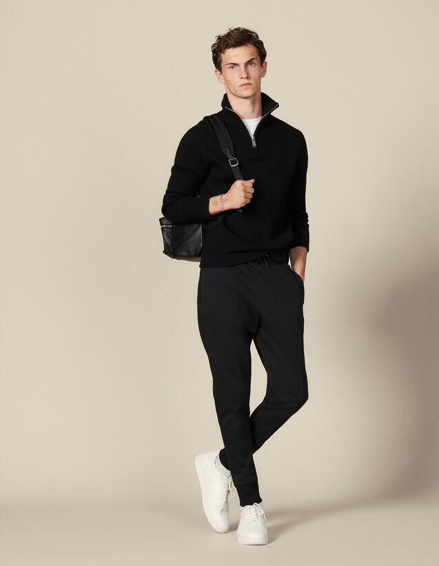 Jogginghose aus technischem Material : Hosen & Shorts farbe Schwarz