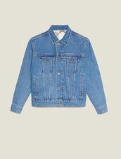 Jeansjacke Mit Maskuliner Passform : null farbe Blue Vintage - Denim