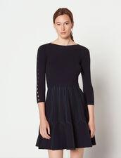 Strickkleid : Kleider farbe Deep Navy
