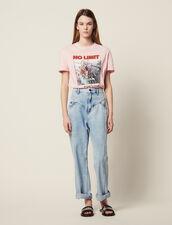 Verwaschene Jeans Mit Passen : Jeans farbe Blue Vintage - Denim