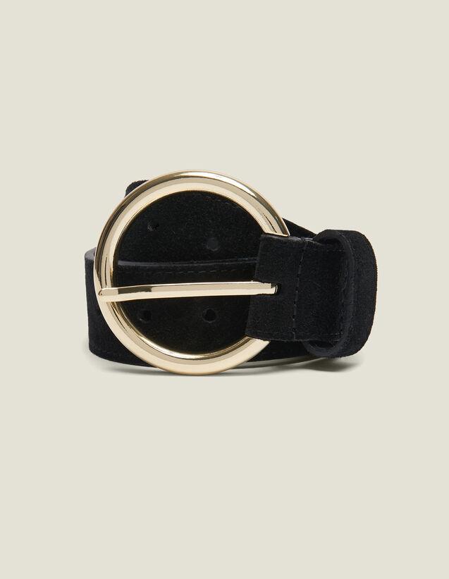 Gürtel Aus Spaltleder : Gürtel farbe Schwarz