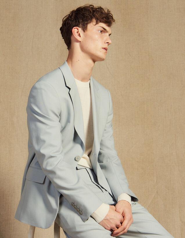 Anzugsakko Aus Wolle : Anzüge & Smokings farbe Mastic