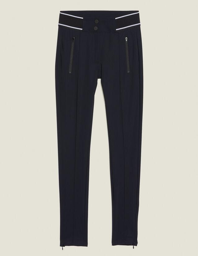 Hose Im Leggingsstil : Hosen farbe Schwarz