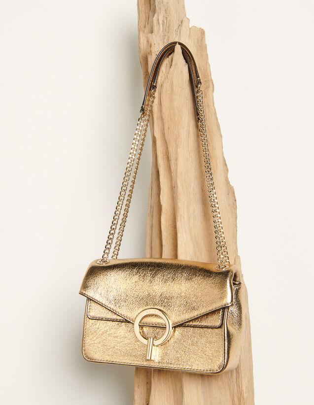 Kleine Yza Tasche Modell Full Gold : Die ganze Winterkollektion farbe Full Gold