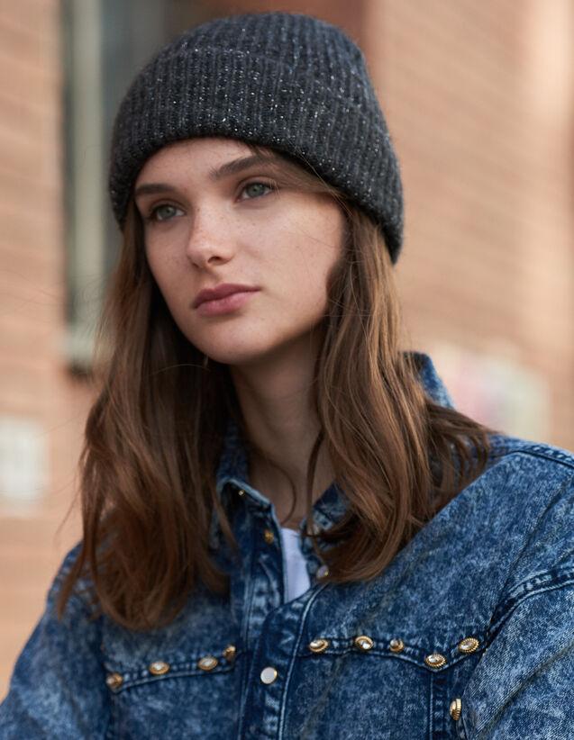 Mütze Aus Lurex : Handschuhe & Mütze farbe Schwarz