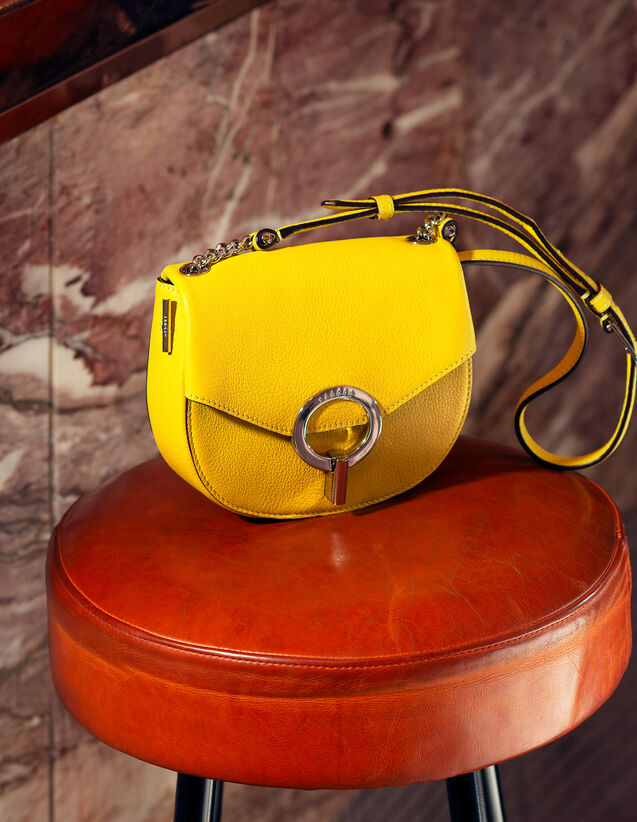 Pépita Tasche, Kleines Modell : Sommer Kollektion farbe Mimosa