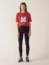 Hose Im Leggingsstil : null farbe Schwarz