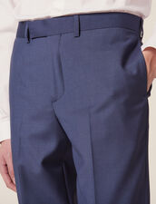 Anzughose Aus Wolle : LastChance-CH-HSelection-Pap&Access farbe Blaugrau