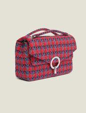 Tasche Yza aus Tweed : Taschen farbe Rot