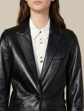 Kostümjacke Aus Leder : Blousons & Jacken farbe Schwarz