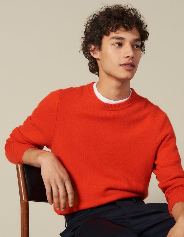Pullover Aus Wolle Und Kaschmir : Pullovers & Cardigans farbe Orange