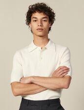 Pullover Mit Polokragen Aus Feinstrick : HSF-UK-PAP&ACCESS farbe Ecru