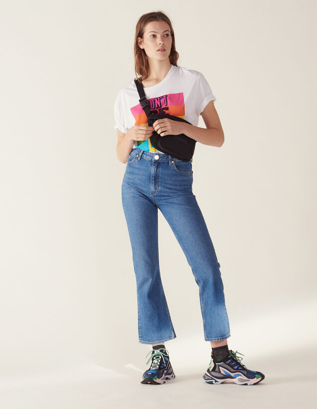 Ausgestellte Jeans : LastChance-FR-FSelection farbe Blue Vintage - Denim