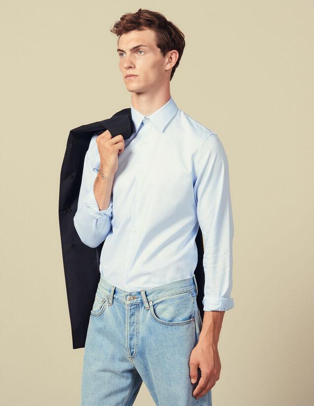 Formelles Oxford-Hemd : Hemden farbe Sky Blue