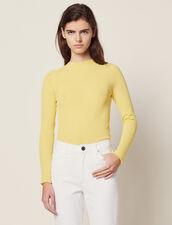 Pullover Aus Feinstrick : Pullover & Cardigans farbe Gelb