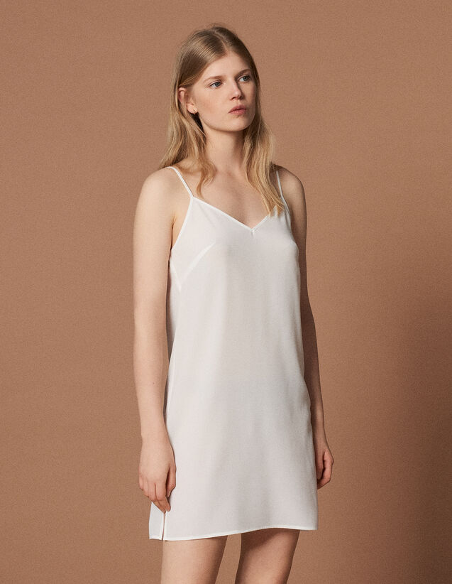 Unterkleid : null farbe Ecru