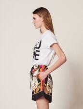 Bedruckte Shorts : Röcke & Shorts farbe Bunt