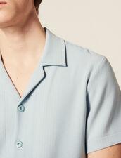 Hemd Aus Gestreifter Baumwolle : Hemden farbe Sky Blue