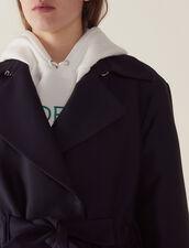 Mantel Im Trenchcoat-Stil : LastChance-FR-FSelection farbe Marine