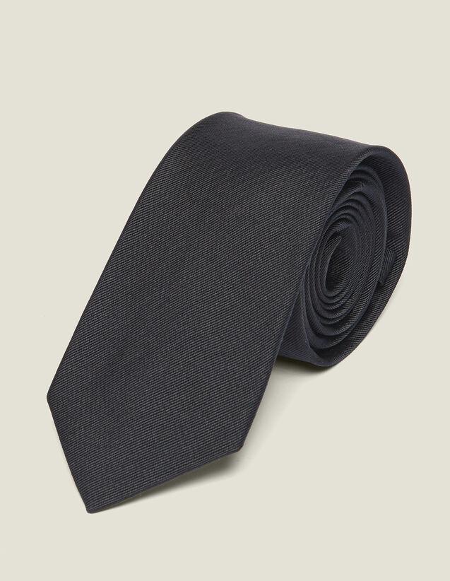 Klassische Krawatte aus Seidentwill : Krawatten & Fliegen Schmetterlinge farbe Marine