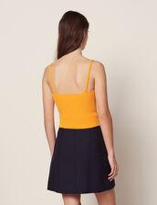 Strickhemdchen Mit Schmalen Trägern : null farbe Gelb