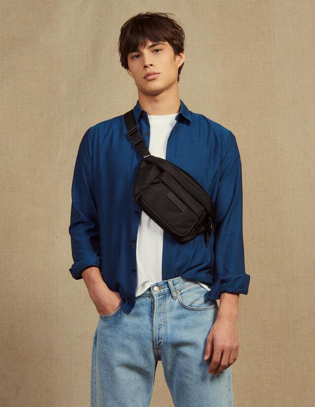 Hemd Aus Chevron-Stoff : Hemden farbe Blau