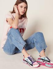 Flame Sneaker : Schuhe farbe Miami