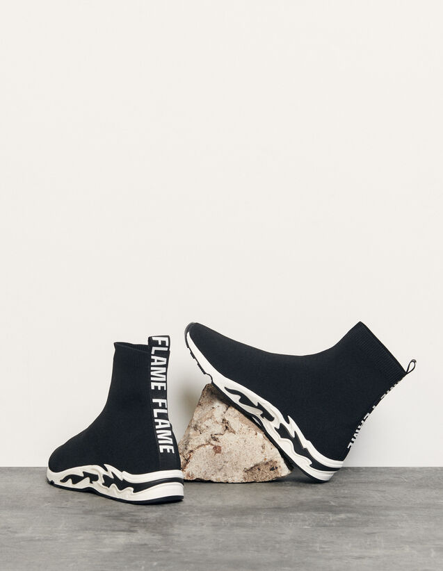Flame sneaker : Schuhe farbe Schwarz