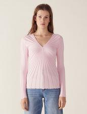 Pullover Aus Baumwolle Mit Langen Ärmeln : null farbe Marine
