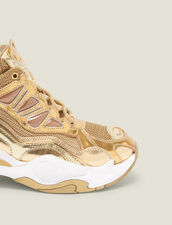 Astro Sneaker : LastChance-ES-F40 farbe Full Gold