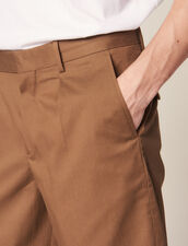 Bermudashorts Mit Abnäher : Sélection Last Chance farbe Taupe
