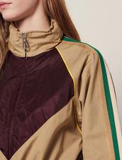 Mantel Im Windjacken-Stil : Mäntel farbe Beige