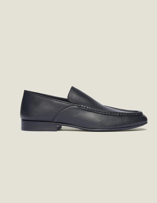 Mokassins Aus Leder : Schuhe farbe Schwarz