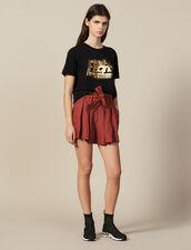 Baumwoll-T-Shirt Mit Schriftzug : FBlackFriday-FR-FSelection-50 farbe Schwarz