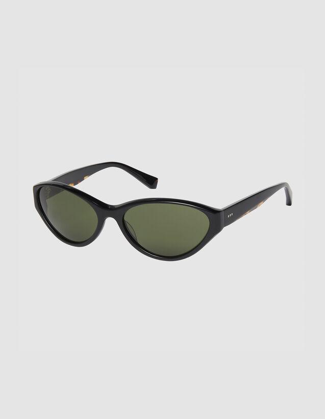 Sport-Sonnenbrille : Sonnenbrille farbe Schwarz